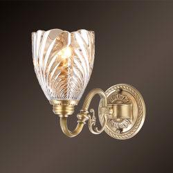 1 Bougeoir armés d'éclairage de la vanité de style Art déco Couloir intérieur décoratifs laiton antique Mur moderne lampe pour salle de séjour