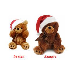 제조업체 도매 주문 OEM ODM 소프트 마스코트 크리스마스 봉제 동물 베이비 플러쉬 테디 베어 기프트 키즈 장난감