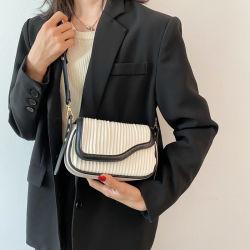 حقيبة صغيرة أنيقة أنثى جديدة من الكتف واحد Messenger الفرنسية Niche حقيبة صغيرة صغيرة بسيطة ومتعددة الاستخدامات