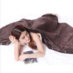 Verwarmde Omslag 6 van de Sjaal USB Afneembaar het Plaatsen van de Hitte Kussen werpt Deken