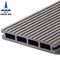 Hueco al aire libre de alta calidad revestimientos de suelos Wood-Plastic WPC WPC Cubiertas Compuestas