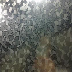 3D Painel de parede 201 304 Cor de aço inoxidável da Husky de folha de aço inoxidável Folha SDS