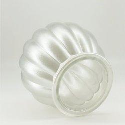 Prata Jarro de vidro a impressão de pulverização vaso de Flores vaso moderno para Home