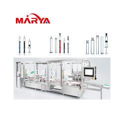 Marya plástico farmacéutica Jeringa de alta capacidad de llenado de montaje de máquina de elevación de la producción de sellado