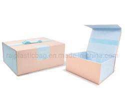 Produttore fornitore Custom Foldable Magnet ondulato Packaging Watch profumo Flower Torta Gioielli Calzature vino cartone imballaggio regalo scatola magnetica pieghevole