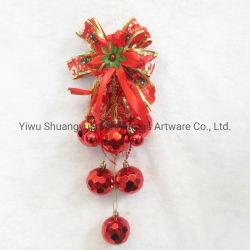 Navidad rojo Cascabel para colgar la decoración de Navidad