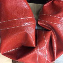 トンネルのカーテンのためのシリコーンによって浸透させるガラス繊維の布