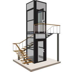 Elektrische vertikale Handikap-Sperrungs-Stuhl-Treppen-Höhenruder-Plattform-hydraulischer Hauptlandhaus-Rollstuhl-Hebevorrichtung-Aufzug für untaugliches oder Ältestes