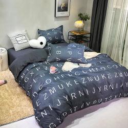 Windeのホーム寝具セットはポリエステルベッドの一定の羽毛布団カバーにブラシをかけた
