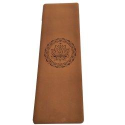 Factory Logotipo personalizado grabado o la impresión de Eco friendly Estera Del Yoga Mat Yoga Goma Cork