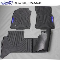 Alfombrillas coche duradero para trabajo pesado para Toyota Hilux Hilux Vigo 2005-2012, 2010-2015, Hilux Revo 2015+
