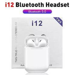 I12 de Draadloze Oortelefoons MiniEarbuds Bluetooth 5.0 van Tws de StereoHoofdtelefoon van de Sport voor Androïde Telefoon I 12 Tws van iPhone Handsfree Hoofdtelefoon