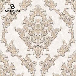 بورصات حائط البراقة الزهور الصفحة الرئيسية 3D ملصقات الحائط الإسلامية اللوحات الزيتية الخلفية من ورق الفينيل