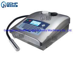 Alto desempenho de impressão a jato de tinta Máquina para contar o número de lote de imprimir