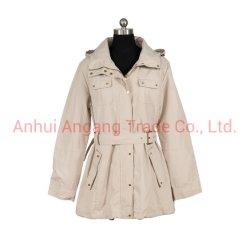 Rivestimento alla moda lungo del cappotto di trincea delle donne