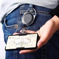 Jojo van de Spoel van het Kenteken van het bureau de Openlucht Intrekbare met de Houder van het Identiteitskaart