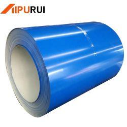 1050 1060 1100 H14 H16 bobine en aluminium à revêtement de couleur bleue