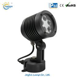IP65 5W 10W 15W 20W Paysage lumière LED haute puissance à l'extérieur pelouse lumière LED Spot d'inondation en aluminium léger Jardin lumière LED RVB d'architecture, parc de l'éclairage