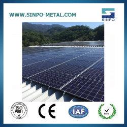 SolarSonnenkollektor-Rahmen-Sonnenkollektor des montage-Systems-PV steht für Zinn-/Metalldach