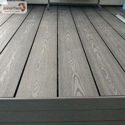 140*23mm decorativo ha fatto nella pavimentazione composita di plastica di legno del laminato del rifornimento del giardino di Decking del legname della Cina