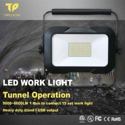 La Chine Prix de vente en gros fournisseur de la lampe de projecteur à LED lumière LED étanche IP65 Type de terminal mobile