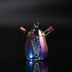 Vidro de protecção UVA Vinagre de Óleo 2 em 1 frasco de vinagre Óleo Galheta