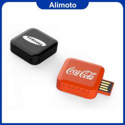 ذراع ذاكرة قابل للطي مربع قابل للسحب USB 2.0 أو USB 3.0