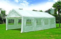 Activités de plein air tente d'exposition/parti tente d'entrepôt de mariage 4mx8m Pavilion parapluie d'ébarbage Garden Sun parapluie tente étanche