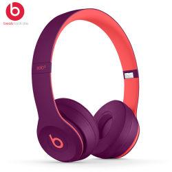 Dr Dre Solo 3 무선 On-Ear 헤드폰[ Defiant Black & Red] 새로 추가