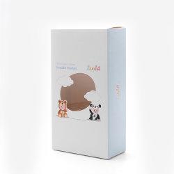 La impresión personalizada de productos cosméticos de electrónica de la tarjeta blanca de papel de embalaje Caja con ventana de PVC