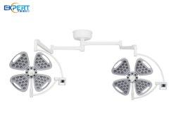 سعر جيد LED طبي جراحي فحص الأسنان ضوء السقف، بطارية مزدوجة الرأس دون ظلال مصباح التشغيل في الغرفة مع كاميرا