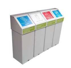 Carton personnalisé l'élimination des fournitures médicales jetables dump bins, bacs de recyclage Les expéditeurs de palette
