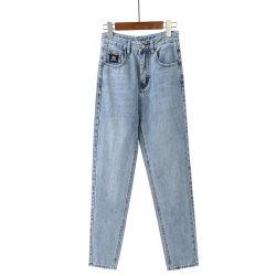 2020 Nuevo el 98% Algodón 2% Spandex moda casual jeans de mezclilla pantalones recortados Haren