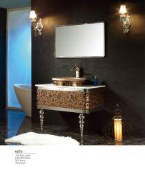 Пол из нержавеющей стали 304 мозаики зеркальные современная ванная комната для хранения продуктов