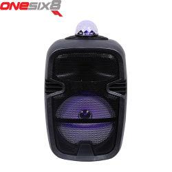 8 pulgadas de PA portátil batería de carro bafle minialtavoz Altavoces de audio con micrófono