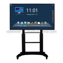 """DV17 serie 65 """" strumentazione infrarossa Whiteboard interattivo di formazione 75 """" 85 """" con tutti in un PC"""