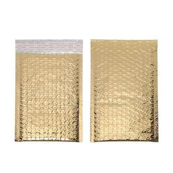 Saco de papel metalizado brilhante Bolha Envelope almofadado