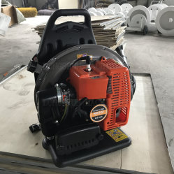 Профессиональные 63.3cc бензин ручной рюкзак сад снега и листьев вентилятора