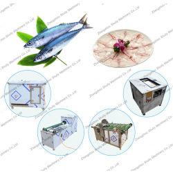 مقياس السمك التلقائي قطع رأس السمك قطع خط إنتاج الآلة
