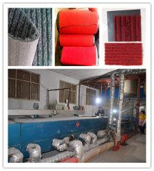 Tenda de fibras para tapetes tufados máquina de tapetes de veludo