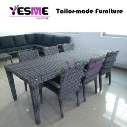 Hôtel moderne et mobilier extérieur utilisé et de la table à manger Chaise en rotin
