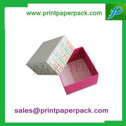 Papel de papelão rígido personalizado a caixa de Duas Peças Criado CD/DVD caixa de embalagem