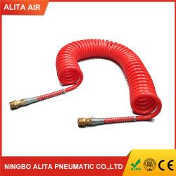 산업 자동화 압축 공기를 넣은 공구 PU 공기 호스 관