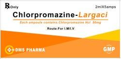 Chlorpromazine 염산염 주입 좋은 품질 2ml: 50mg