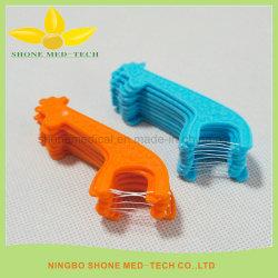 I nuovi prodotti hanno colorato il filo per i denti per l'igiene orale