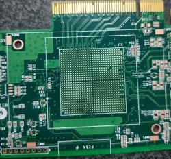 PWB ad alta velocità del circuito della scheda del PCI della trasmissione di 4 di strato dati di alta qualità