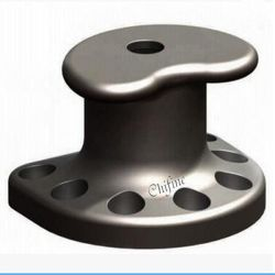 En acier inoxydable moulé Bollard partie bollard d'amarrage
