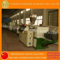 Commerce de gros Twin Double en plastique de la vis de conduit électrique de l'extrudeuse Approvisionnement en eau de drainage en PVC d'égout