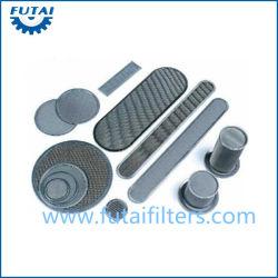 Металлический фильтр пакета войлока волокна для синтетического волокна