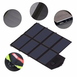 50W Sunpowerのすべての移動式力および電池の最もよい販売のための太陽Foldable折るパネルの充電器